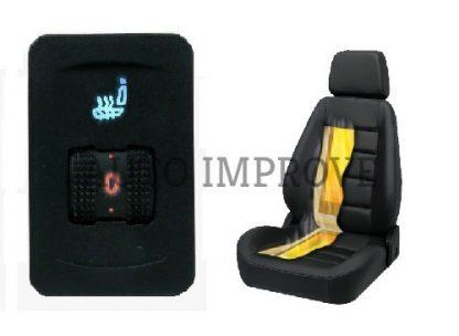 Incalzire in scaun auto carbon AutoImprove 5 trepte VW