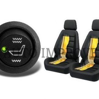 Incalzire scaune carbon auto 2 trepte pentru doua scaune AutoImprove